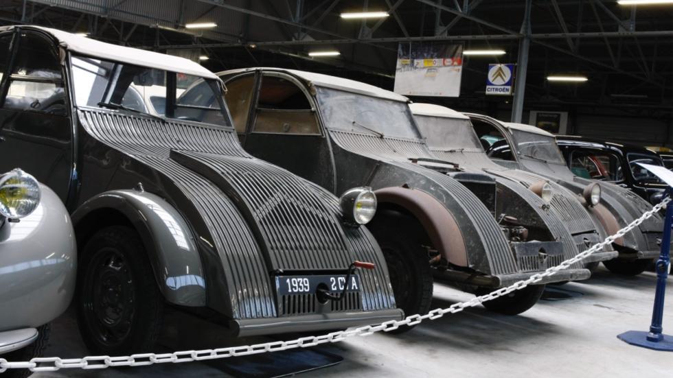 prototipos escondidos del 2CV