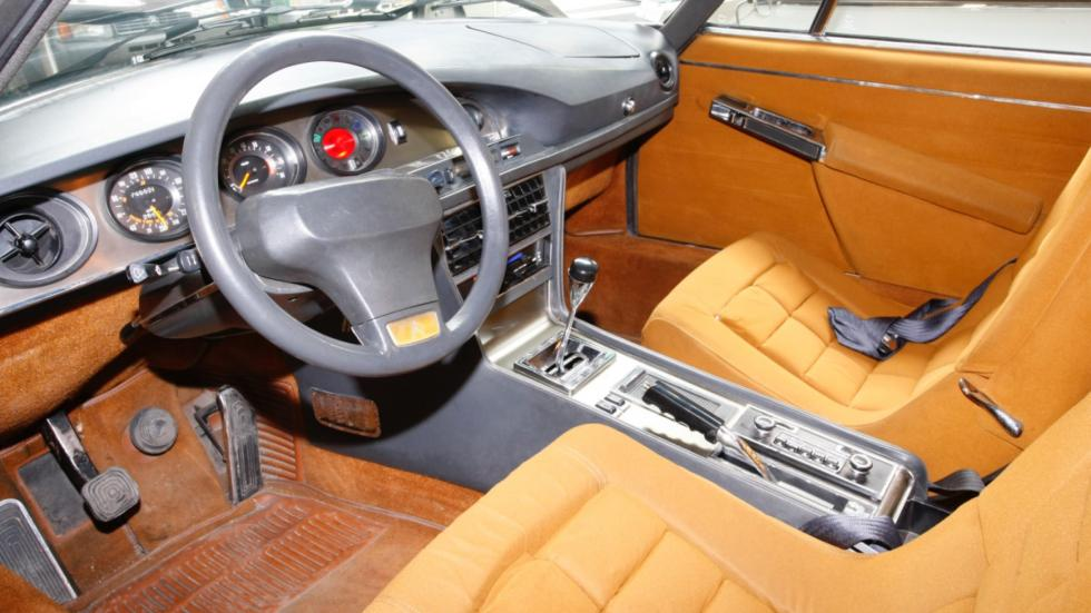 interior del Citroën SM