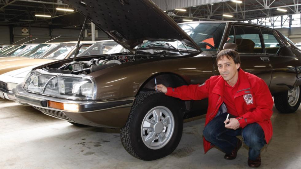 suspensión hidroneumática de Citroën