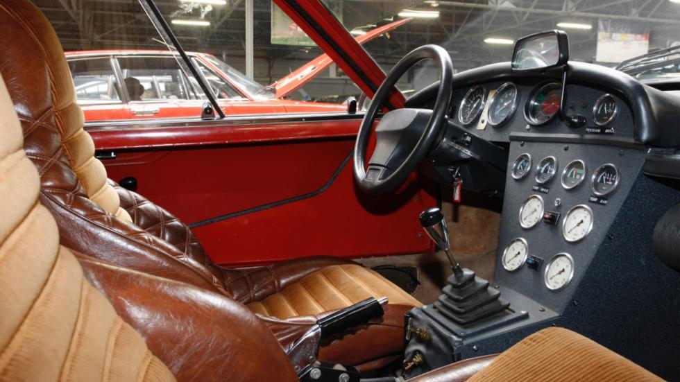 Interior del Citroën SM prototipo