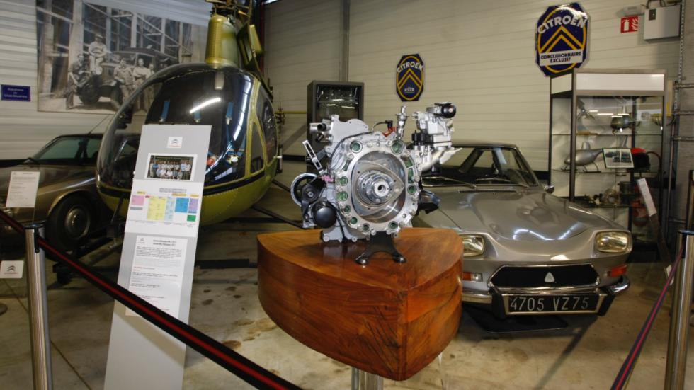 motor rotativo de Citroën