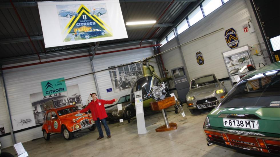 Conservatorio de Citroën rincón rotativo