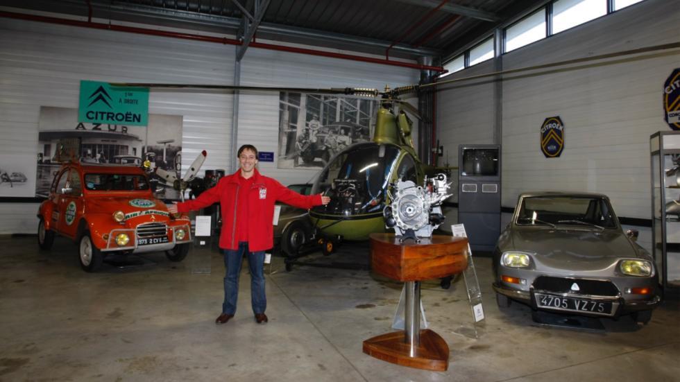 vehículos rotativos, que en Citroën