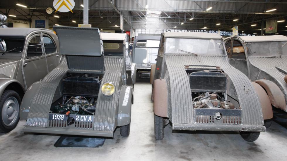 prototipos de los 2CV escondidos