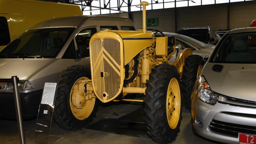 tractor de Citroën