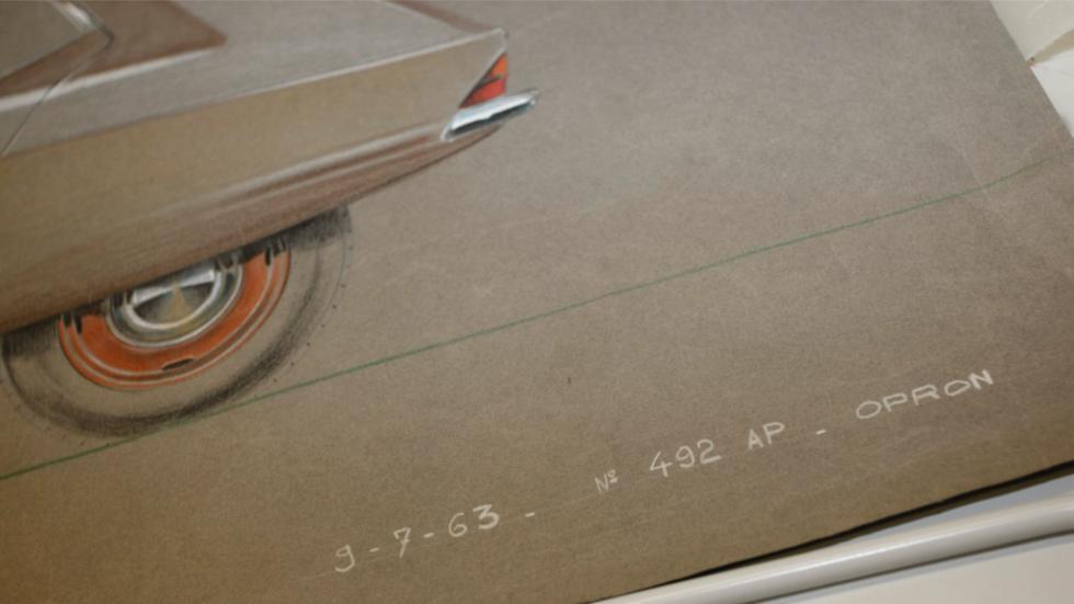 dibujo Prototipo de Citroën compacto