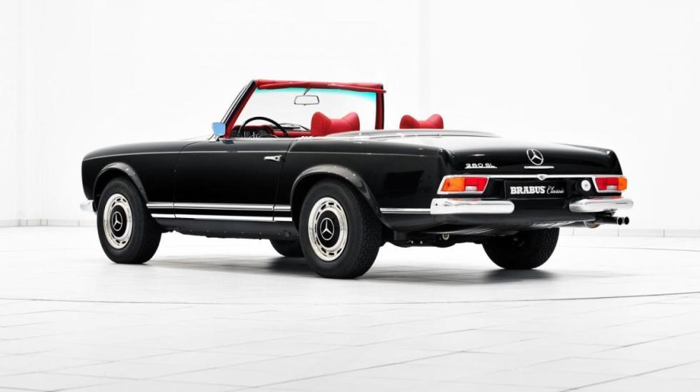 Las restauraciones de Brabus Mercedes 280 SL Roadster