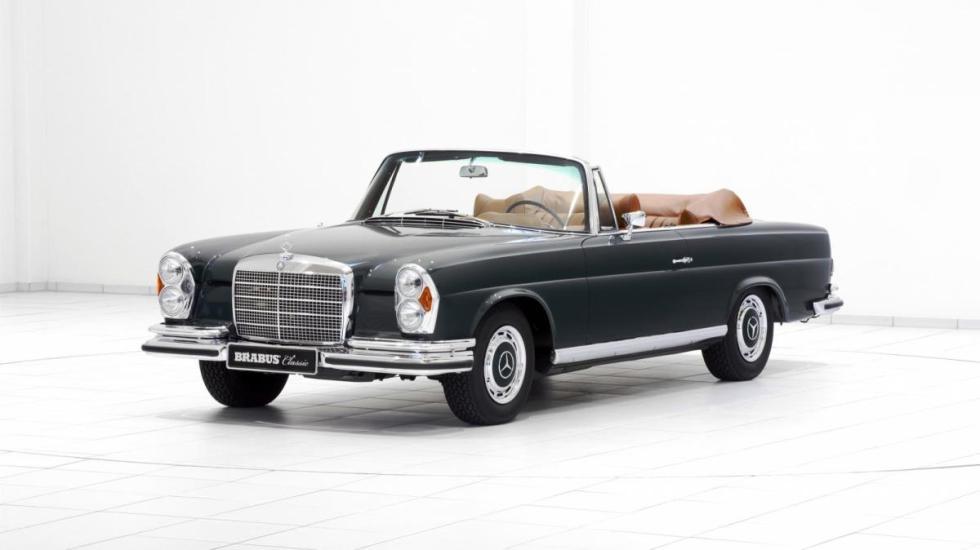 Las restauraciones de Brabus Mercedes 280 SE 3.5