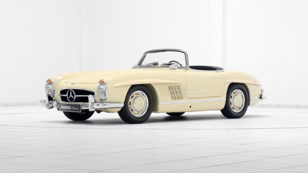 Las restauraciones de Brabus Mercedes 300 SL Roadster