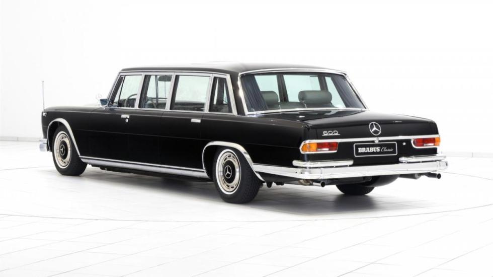 Las restauraciones de Brabus Mercedes 600 Pullman