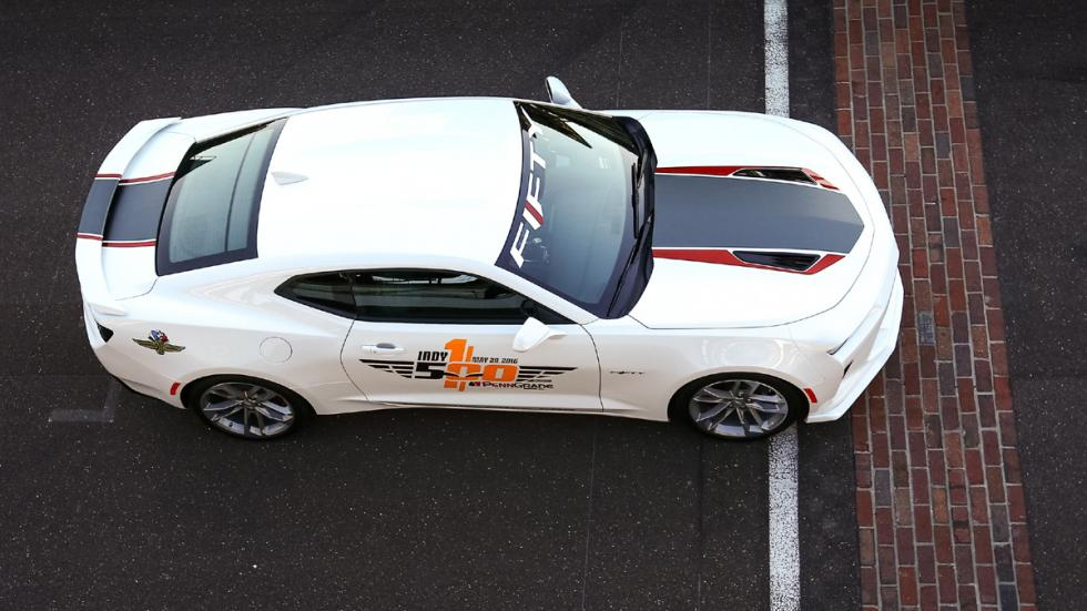 Chevrolet Camaro SS Indy 500 Pace Car techo