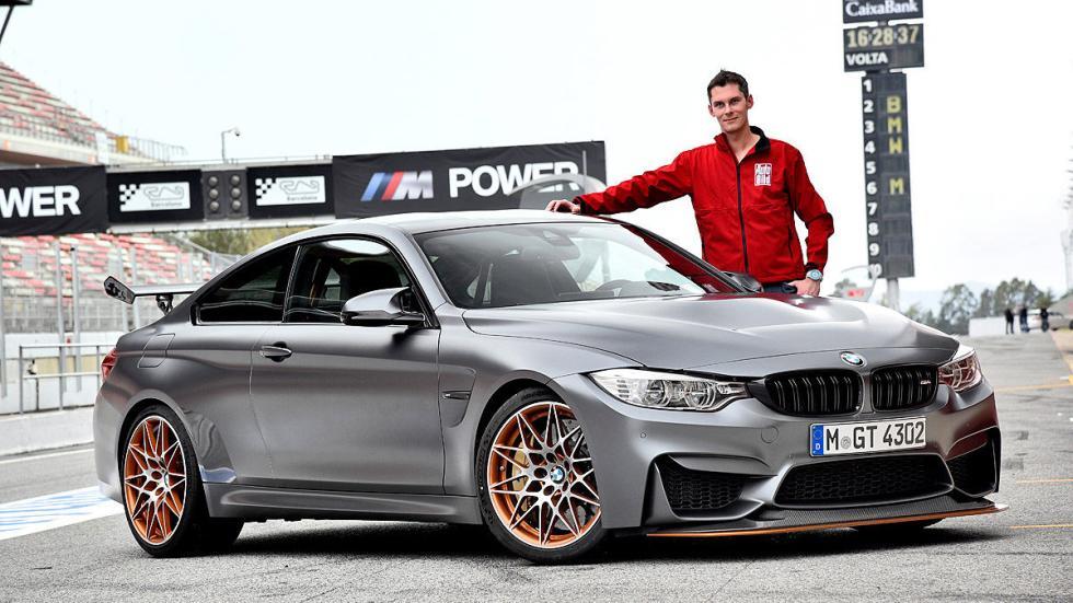 Prueba radical: BMW M4 GTS 2016