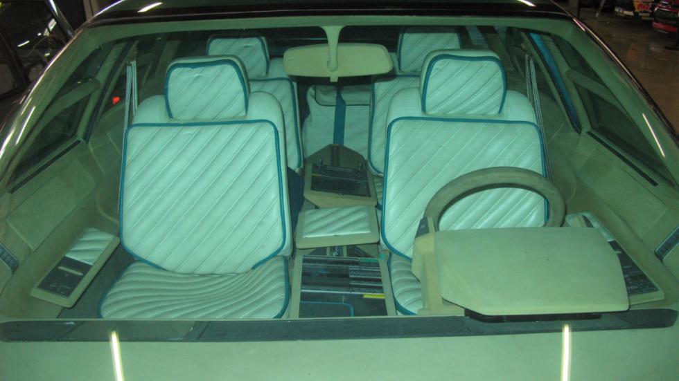 asientos delanteros del Citroën Eole
