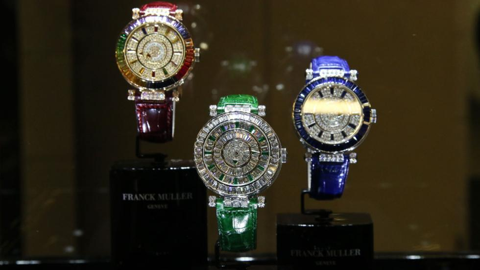 Relojes Top Marques 2016 frank muller brillantes