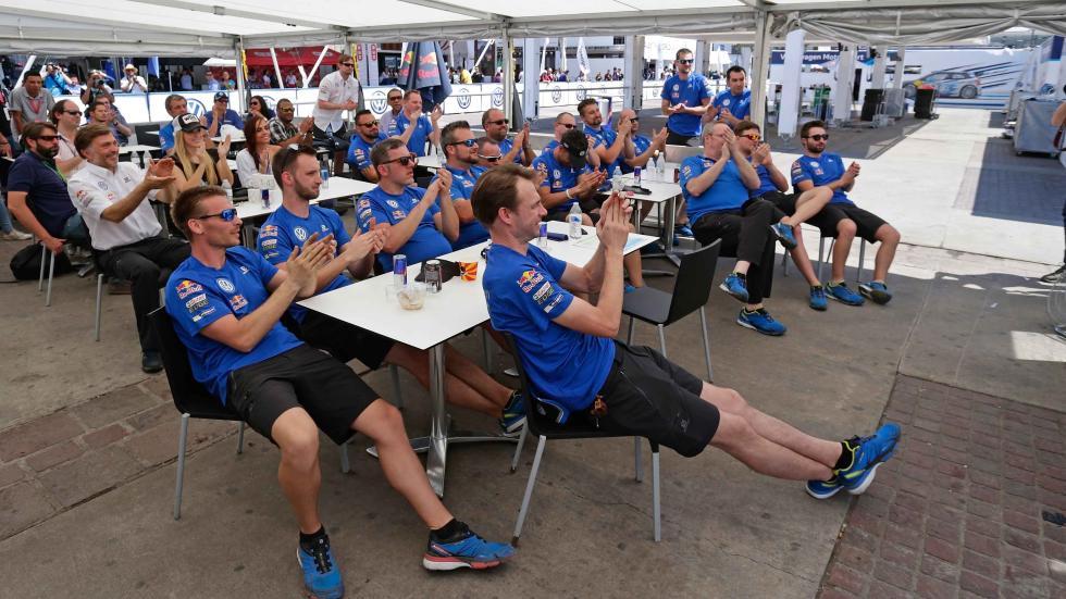 rally de méxico 2016 equipo VW motorsport