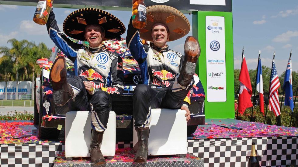 rally de méxico 2016 podio de méxico