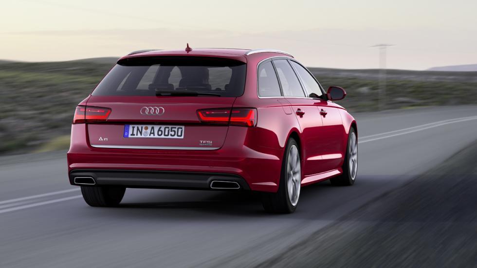 Audi A6 Avant 2016 zaga