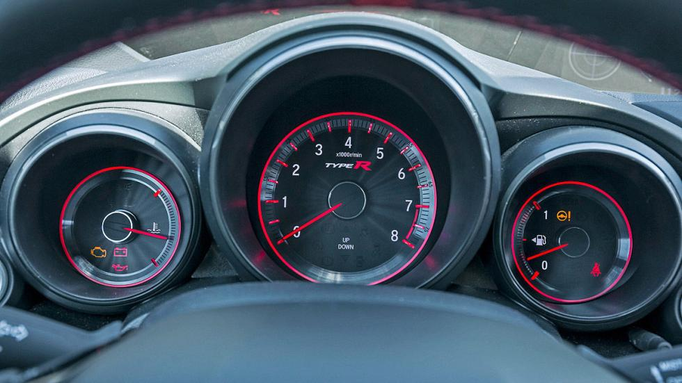 Honda Civic Type R relojes