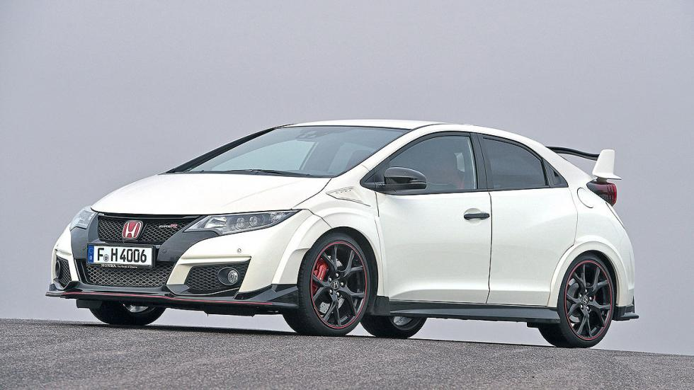 Honda Civic Type R morro lateral