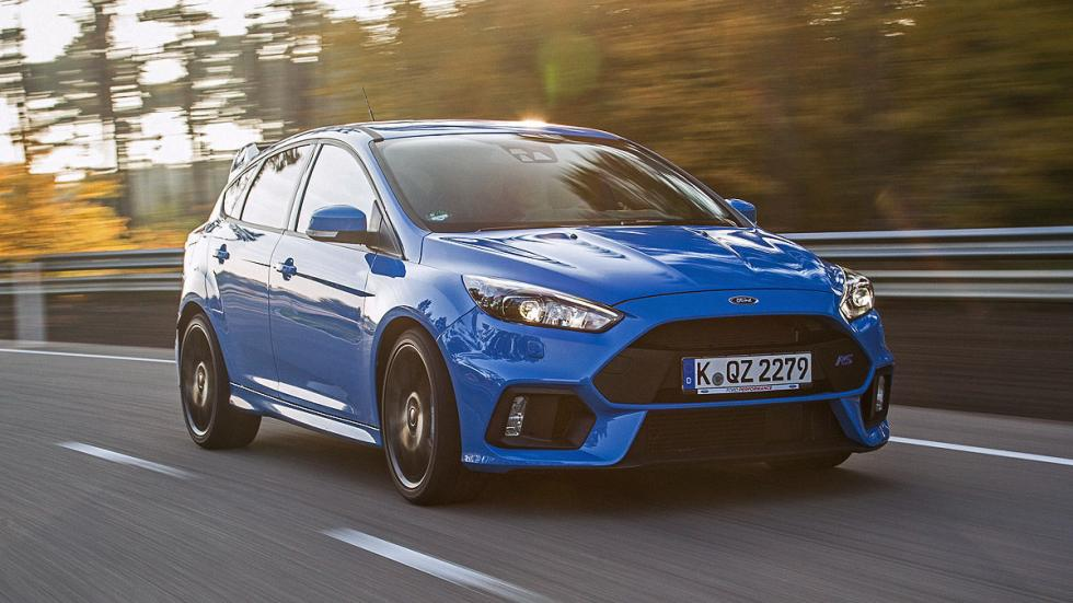 Ford Focus RS morro