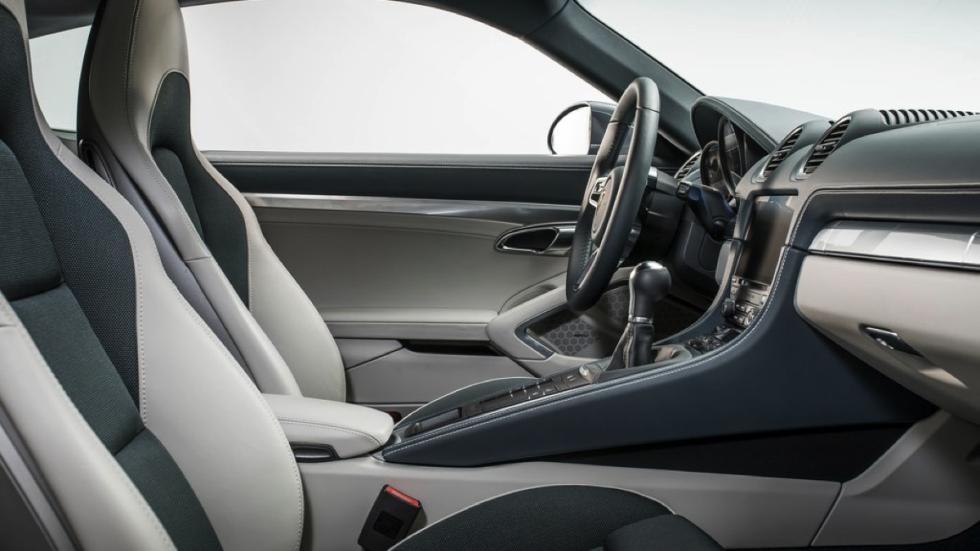 Porsche 718 Cayman  asientos