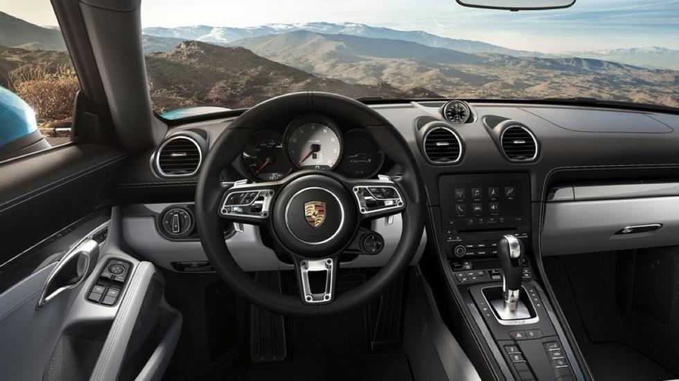 Porsche 718 Cayman  salpicadero