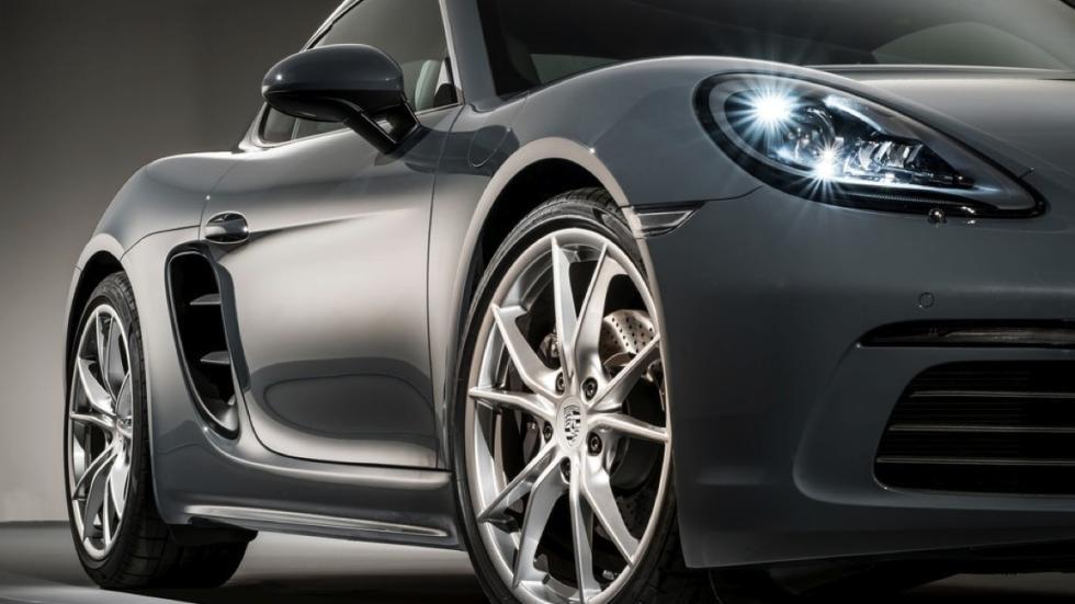 Porsche 718 Cayman  rueda