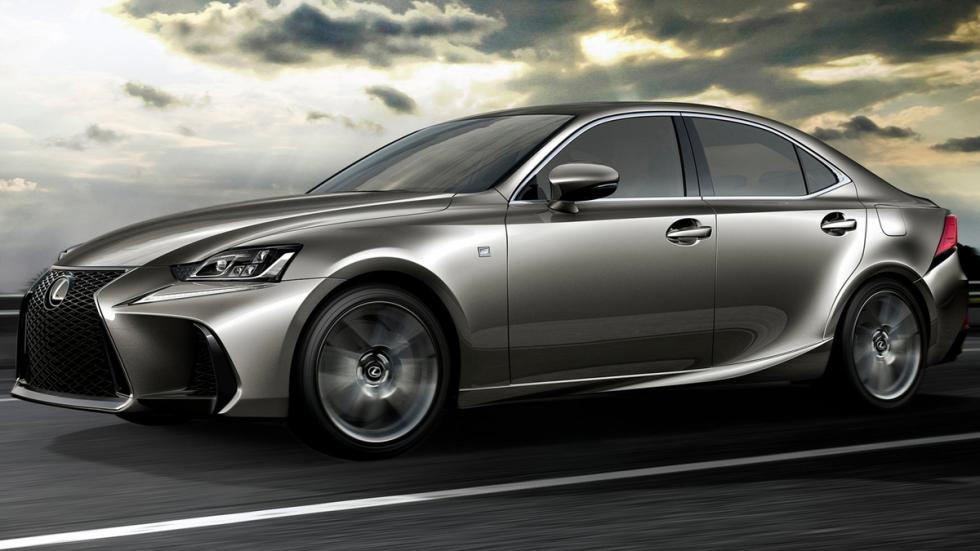 Lexus IS 2017 lateral