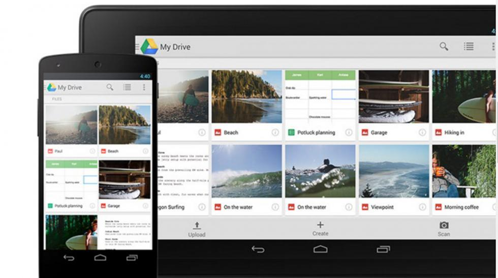 herramienta google drive cualquier dispositivo