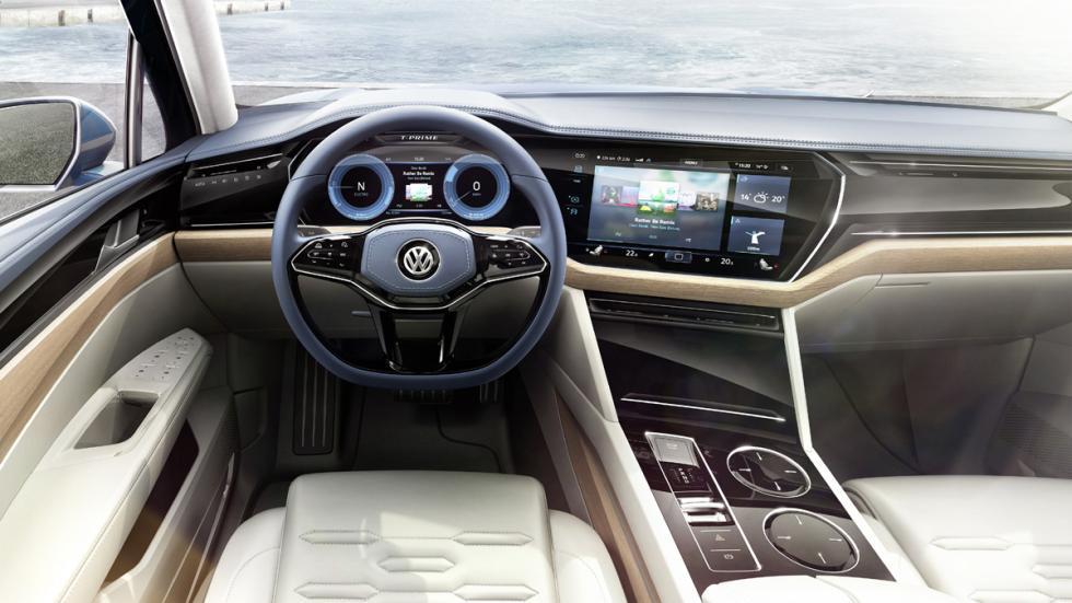 Volkswagen T-Prime GTE Concept salpicadero