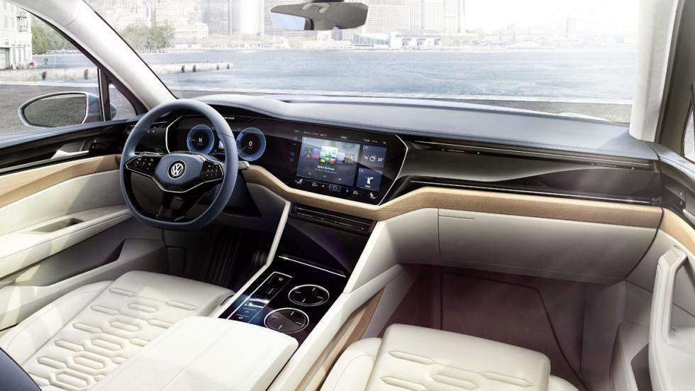 Volkswagen T-Prime GTE Concept interior