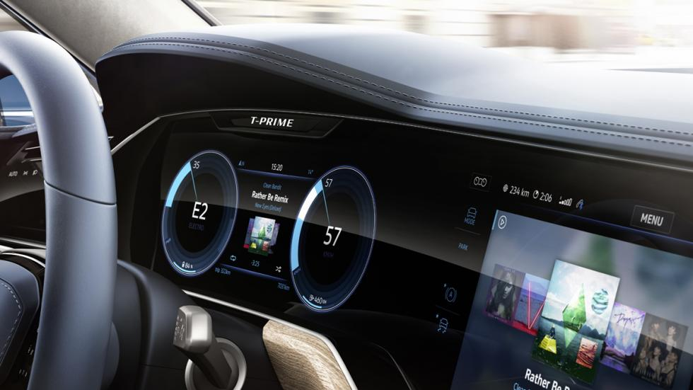 Volkswagen T-Prime GTE Concept detalle