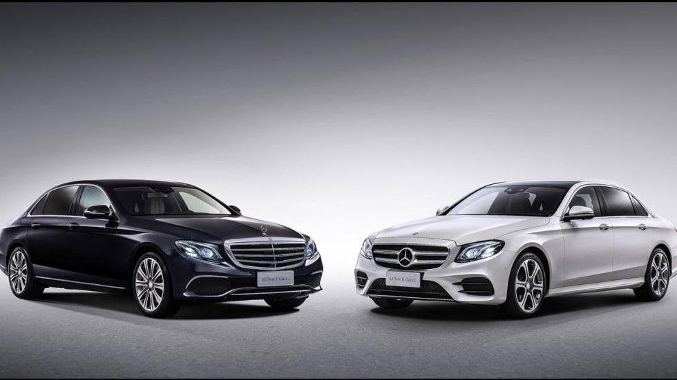 Mercedes Clase E largo