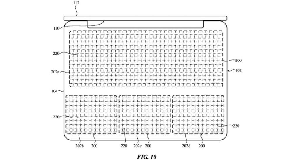 patente apple reducir grosor sin teclado