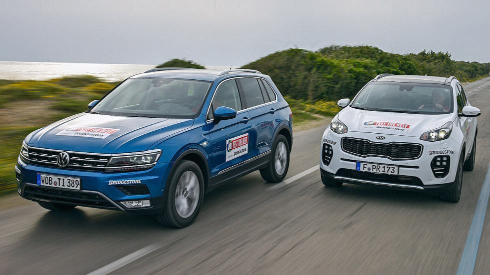 Cara a cara: Kia Sportage vs Volkswagen Tiguan