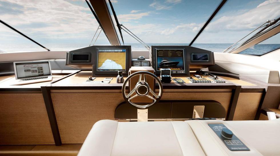 puesto conduccion monte carlo yachts 76