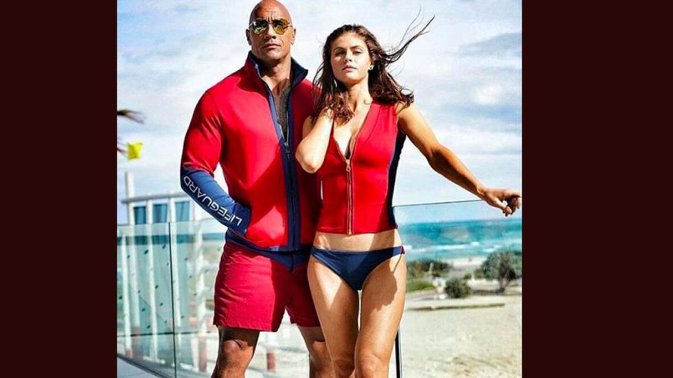 'La Roca' será uno de los actores de la película de 'Los Vigilantes de la Playa'