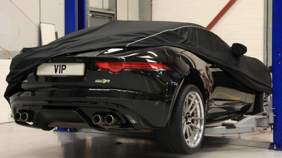 Jaguar F-Type preparado por VIP Design zaga