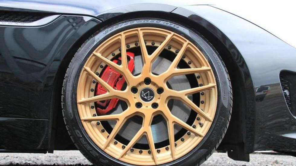Jaguar F-Type preparado por VIP Design llantas