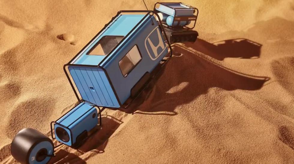 desert train prototipo honda coches autonomos