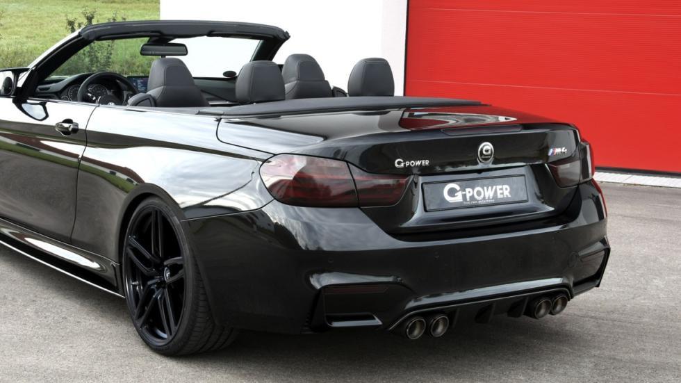 BMW M4 Cabrio G-Power tres cuartos traseros