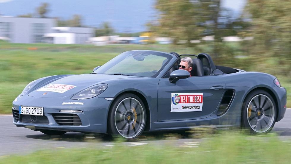 Porsche 718 Boxster barrido 3 cuartos
