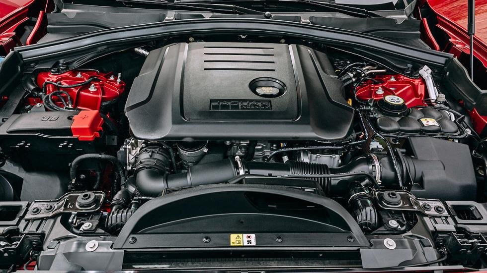 Jaguar F-Pace motor