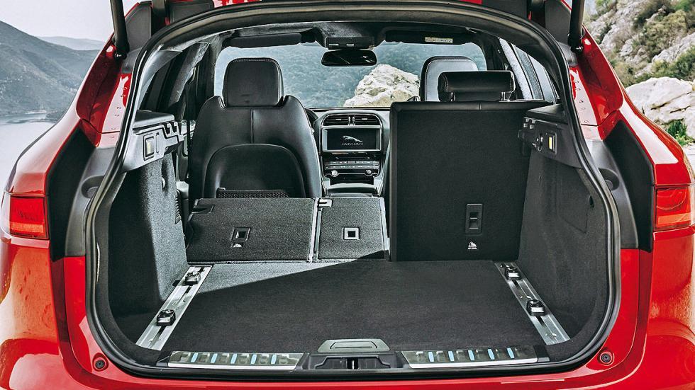 Jaguar F-Pace maletero