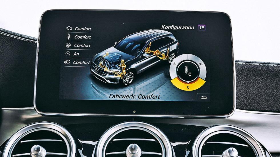 Mercedes GLC pantalla