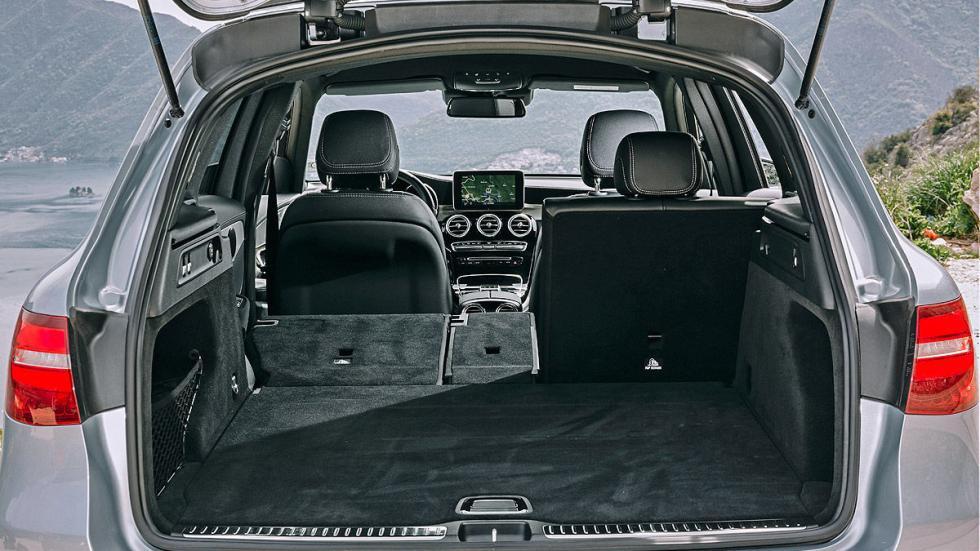 Mercedes GLC maletero