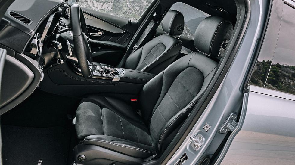 Mercedes GLC asientos