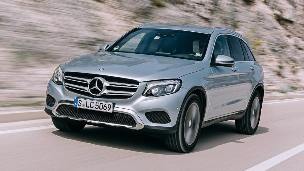 Mercedes GLC dinámica