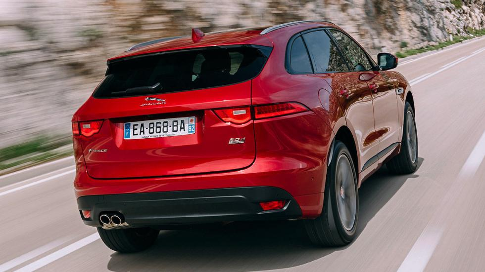Jaguar F-Pace detalle zaga