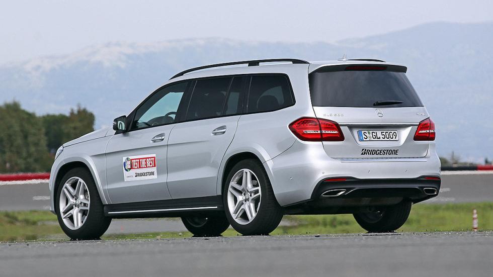 Mercedes GLS lateral zaga